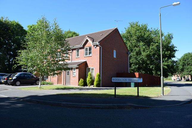 Thumbnail Town house to rent in Woodcock Square, Mickleover, Derby