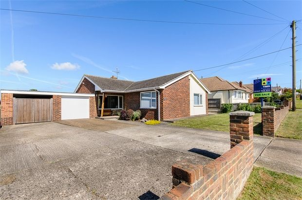 Thumbnail Detached bungalow for sale in Sea View Road, Cliffsend, Ramsgate