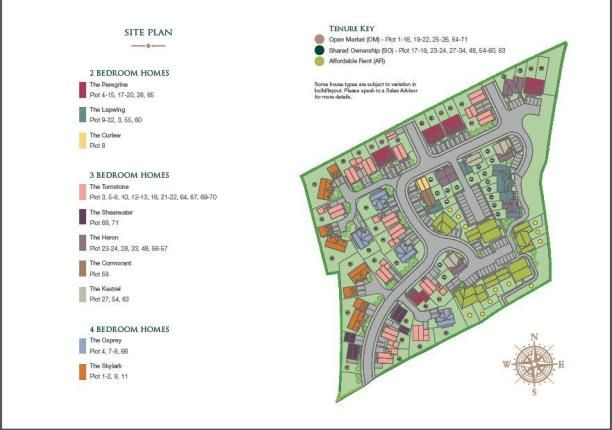 Site Plan of Polpennic Drive, Padstow PL28