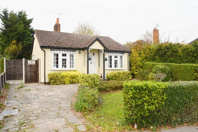 Thumbnail Bungalow for sale in Church Road, Harold Wood, Romford