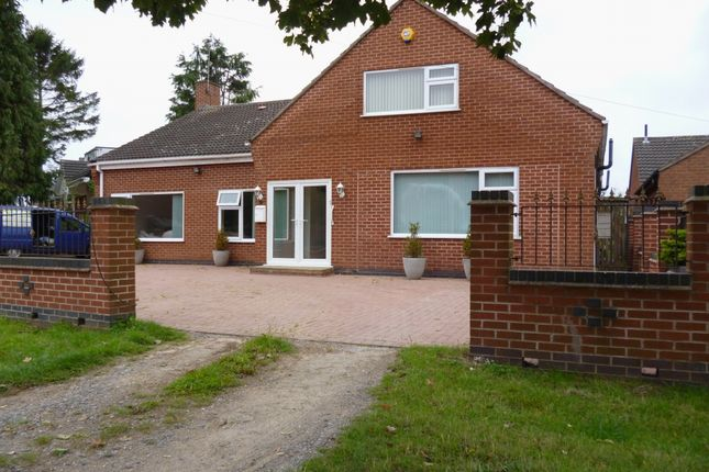 Thumbnail Bungalow for sale in Eastfield Road, Thurmaston, Leicester