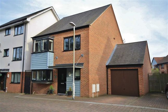 Thumbnail Detached house for sale in Beadsman Crescent, Leybourne, West Malling
