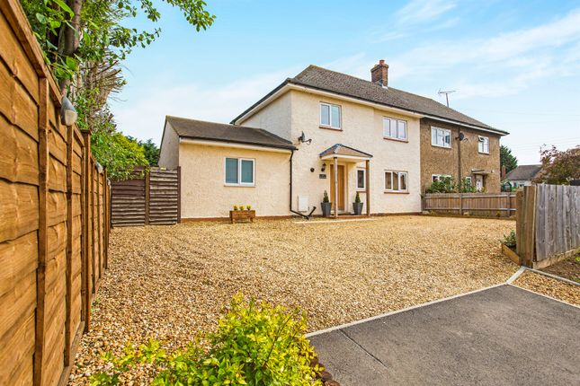 Thumbnail Semi-detached house for sale in Back Lane, Ringstead, Kettering