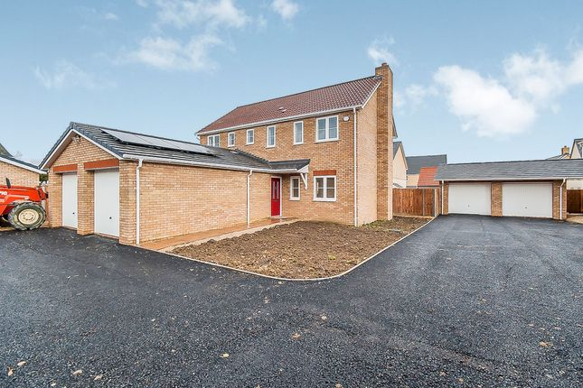 Thumbnail Detached house for sale in Gidding Road, Sawtry, Huntingdon