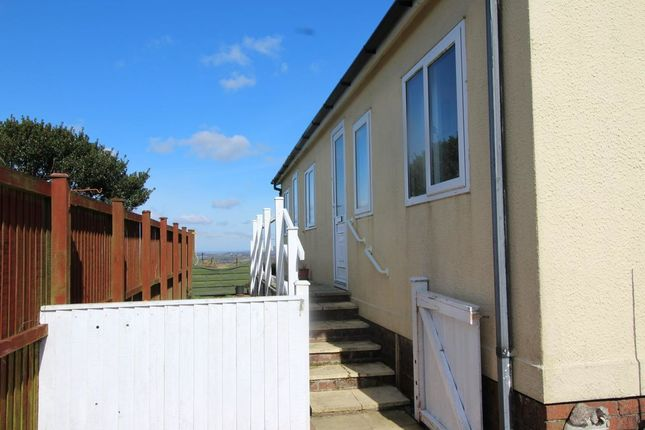 Thumbnail Bungalow for sale in Resugga Green Residential Homes Park, Resugga Green, St. Austell