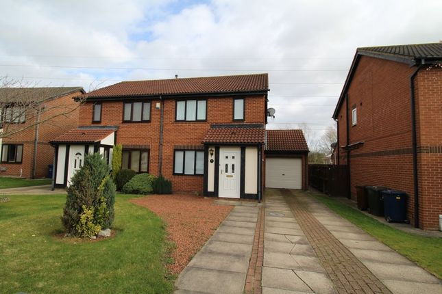 Thumbnail Semi-detached house to rent in Monkridge, North Walbottle, Newcastle Upon Tyne