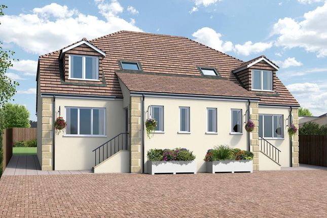 Thumbnail Semi-detached house for sale in Rose-An-Grouse, Canonstown, Hayle, Cornwall
