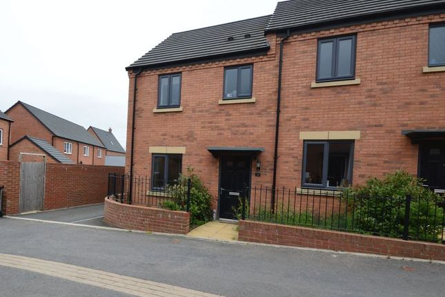 Thumbnail Semi-detached house for sale in Lineton Close, Lawley, Telford
