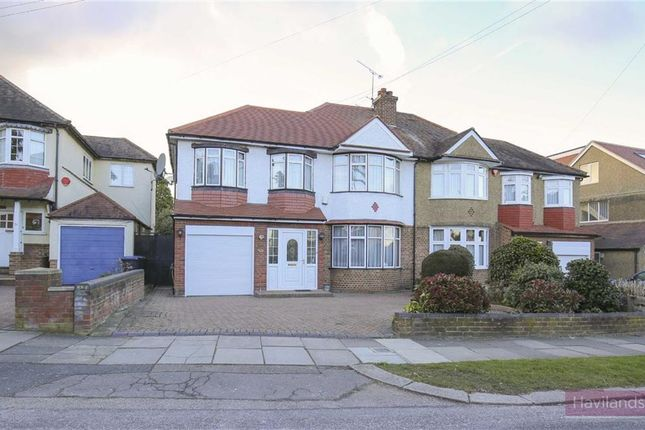 Thumbnail Semi-detached house for sale in Green Moor Link, London