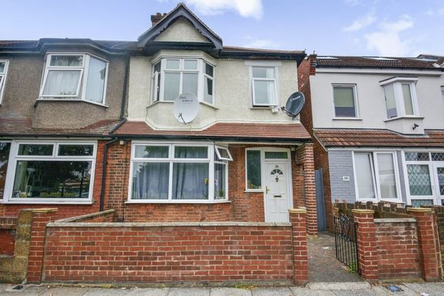 Thumbnail End terrace house for sale in Park View Road, London
