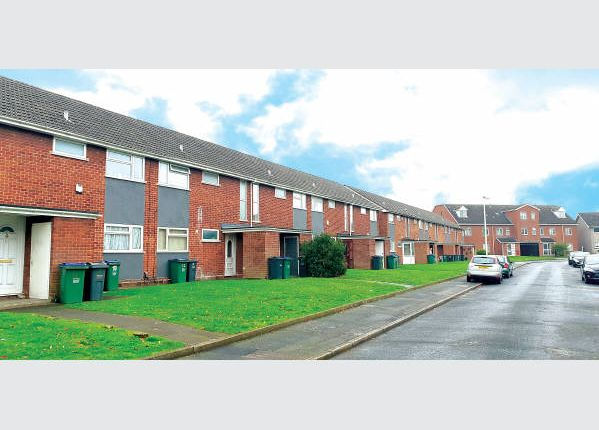 Thumbnail Block of flats for sale in Flats, At 18 Garages, Tudor Court, West Midlands