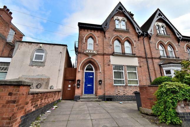Thumbnail Terraced house to rent in 3 Flats: Livingstone Road, Handsworth, Birmingham