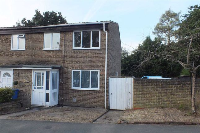 Thumbnail End terrace house to rent in Silver Hill, College Town, Sandhurst