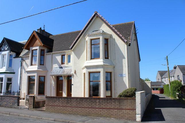 Thumbnail End terrace house for sale in 4 Norwood Terrace, Stranraer