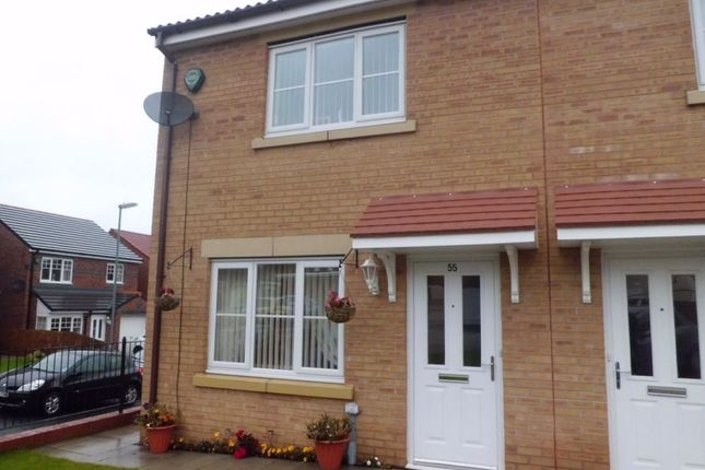 Thumbnail End terrace house to rent in Fellway, Glenside View, Chester-Le-Street, Durham