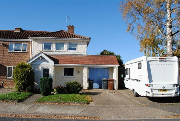 Thumbnail End terrace house for sale in Chalcombe Road, Kingsthorpe, Northampton