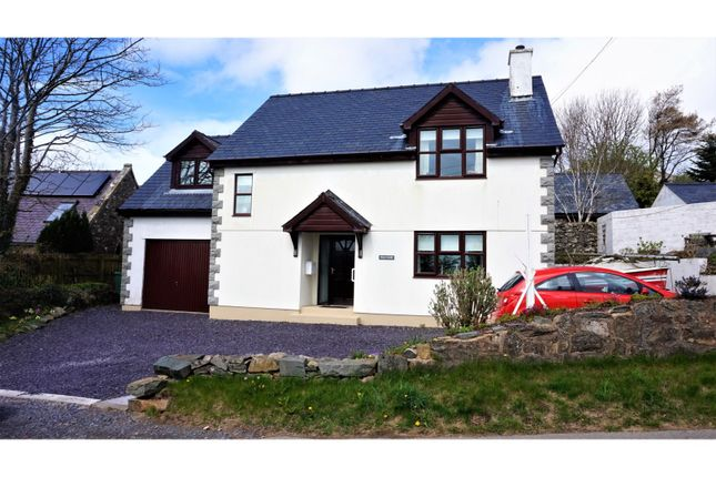 Thumbnail Detached house for sale in Llithfaen, Pwllheli