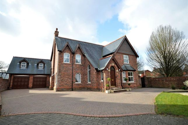 Thumbnail Detached house for sale in Mere View Gardens, Appleton, Warrington