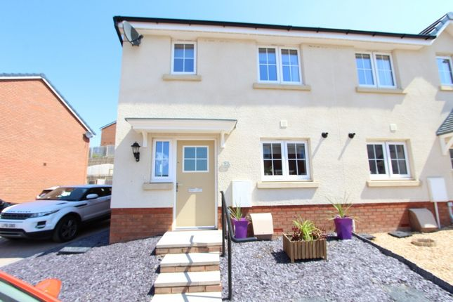 Thumbnail Semi-detached house for sale in Highfields, Tonyrefail -, Porth