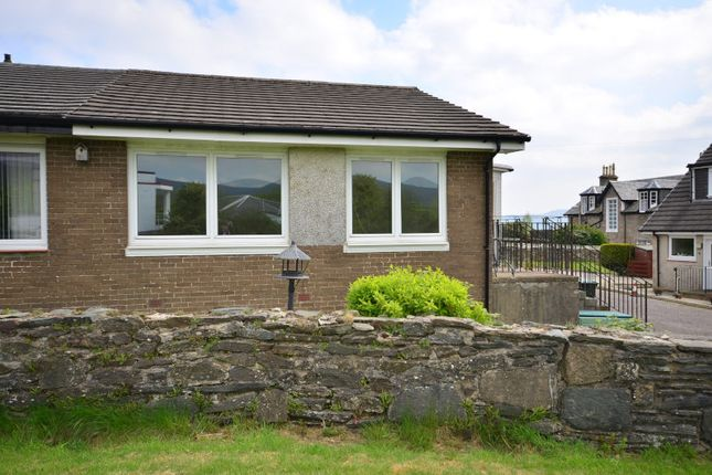 Semi-detached house for sale in Cedar Grove Dhailling Road, Dunoon