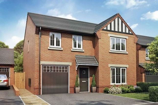 Thumbnail Detached house for sale in Churton Road, Farndon, Chester