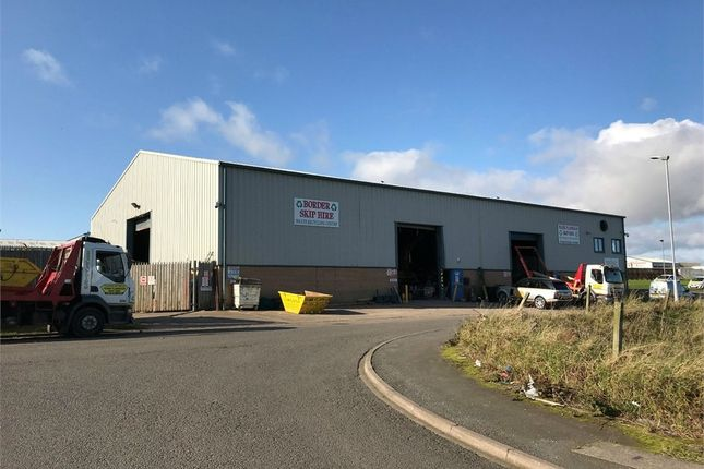 Thumbnail Commercial property to let in Trade Counter Unit, Sea View, Ramparts Business Park, Berwick-Upon-Tweed, Northumberland