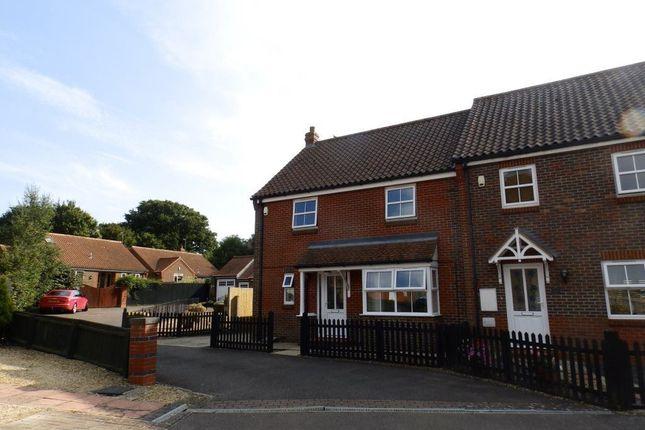 Thumbnail Terraced house to rent in Hall Close, Heacham, King's Lynn
