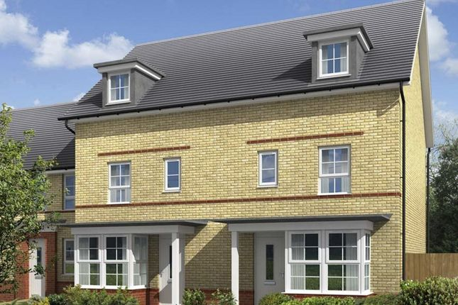 "Thumbnail Semi-detached house for sale in ""Woodbridge"" at Fen Street, Brooklands, Milton Keynes"