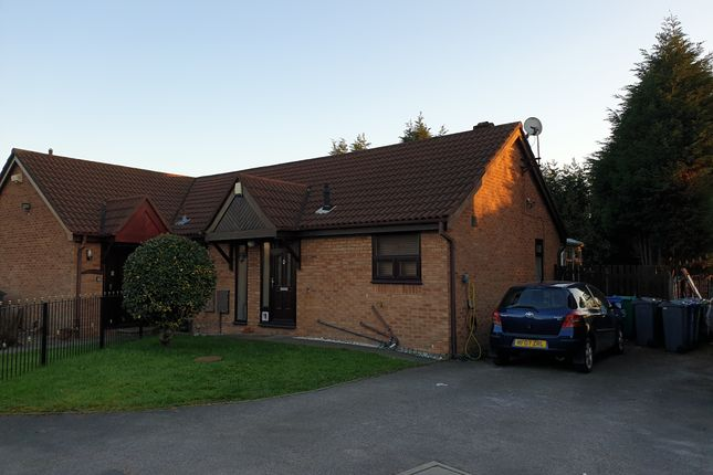 Thumbnail Semi-detached bungalow to rent in Sarnesfield Close, Manchester