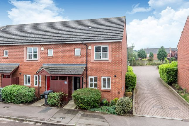 Thumbnail End terrace house for sale in Allen Road, Rushden