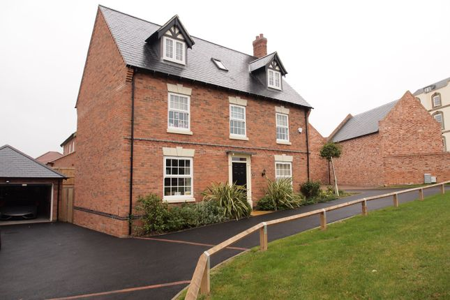 Thumbnail Detached house for sale in James Way, Scraptoft, Leicester