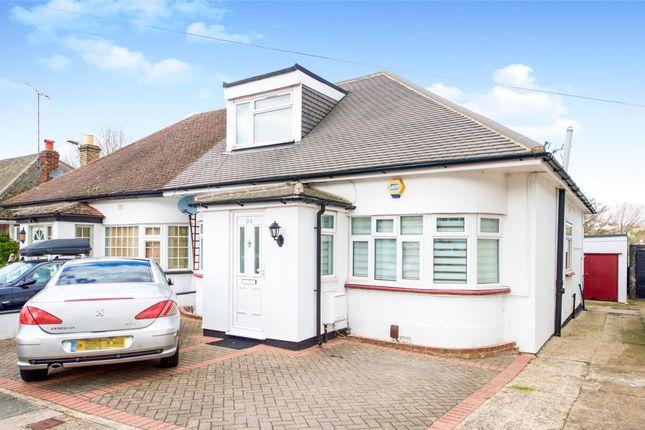 Thumbnail Semi-detached bungalow for sale in Kinloch Drive, Kingsbury