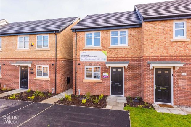 Thumbnail Semi-detached house for sale in Cottonfields, Atherton, Manchester