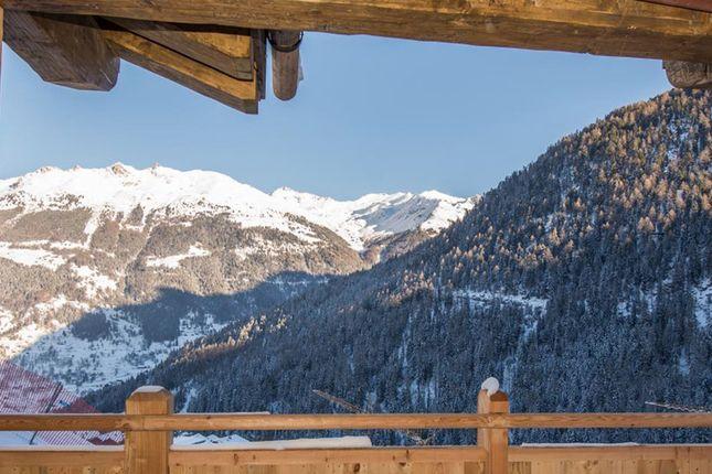 Se Facing Views of Route Des Rahas Grimentz, Valais, Switzerland