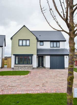 Thumbnail Detached house for sale in Plot 28, The Oystermouth, Caswell, Swansea