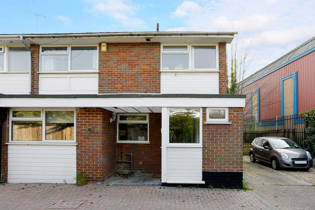 Thumbnail End terrace house to rent in Mill End Road, High Wycombe