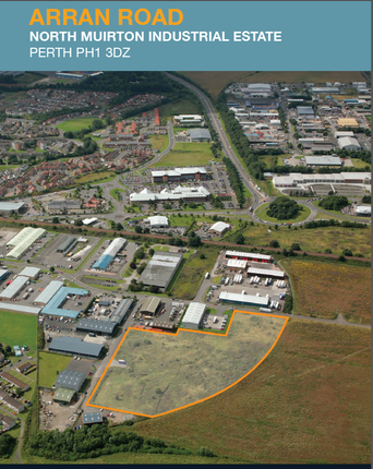 Thumbnail Light industrial to let in Land At Arran Road, Perth PH1 3Du