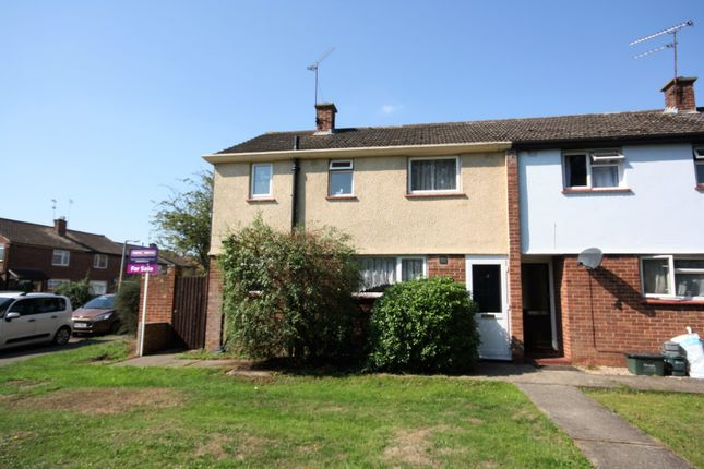 Thumbnail End terrace house for sale in Wicklow Avenue, Chelmsford