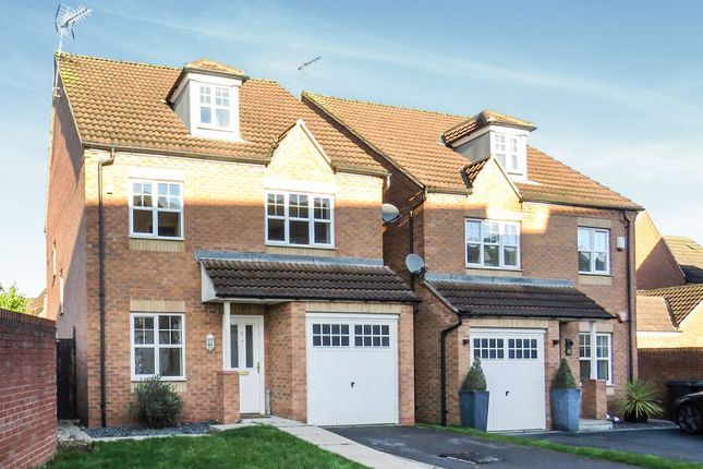 Thumbnail Detached house for sale in Kirtley Close, Watnall, Nottingham