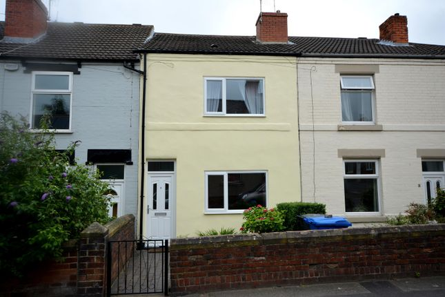 Terraced house for sale in Devonshire Road North, New Whittington, Chesterfield