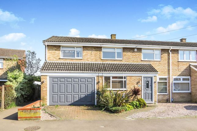 Thumbnail Semi-detached house for sale in Newis Crescent, Clifton, Shefford