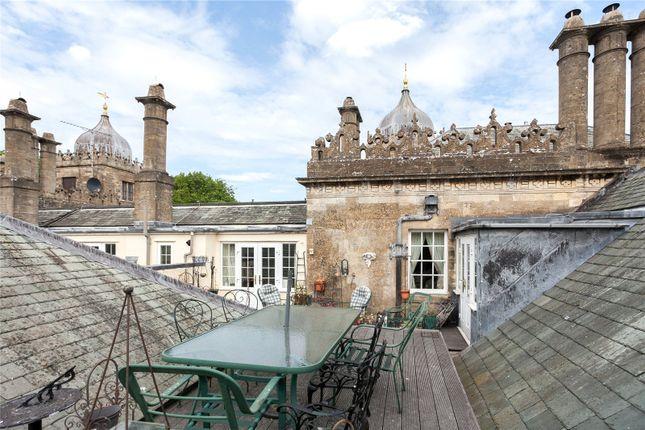Roof Terrace of Charlton Park, Charlton, Malmesbury, Wiltshire SN16