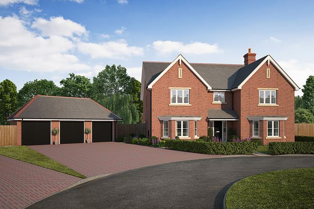 "Thumbnail Detached house for sale in ""Oak House"" at Kendal End Road, Barnt Green, Birmingham"