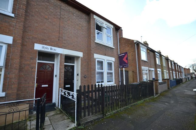 Thumbnail End terrace house to rent in Hanman Road, Gloucester, Gloucestershire