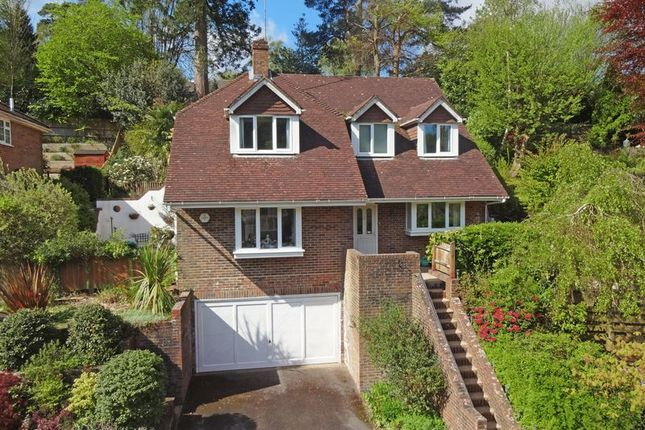 Thumbnail Detached house for sale in Clovelly Park, Beacon Hill, Hindhead