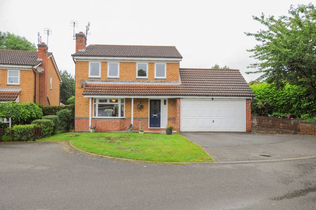 Thumbnail 4 bed detached house for sale in St. Giles Close, Chesterfield