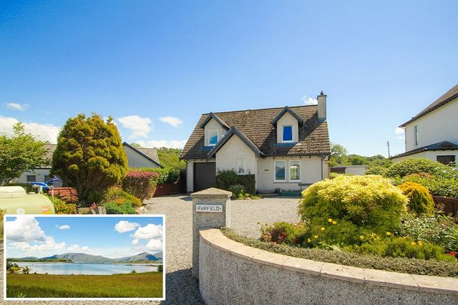 Thumbnail Detached house for sale in Port Appin, Port Appin, Argyllshire