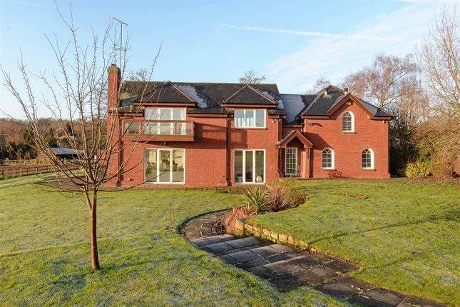 Thumbnail Detached house for sale in Burley Hill, Allestree, Derby, Derbyshire