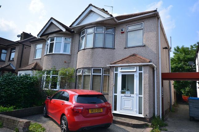 Thumbnail Semi-detached house for sale in Squirrels Heath Lane, Ardleigh Green, Hornchurch