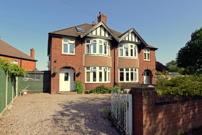 Thumbnail Semi-detached house for sale in Ebnal Road, Shrewsbury